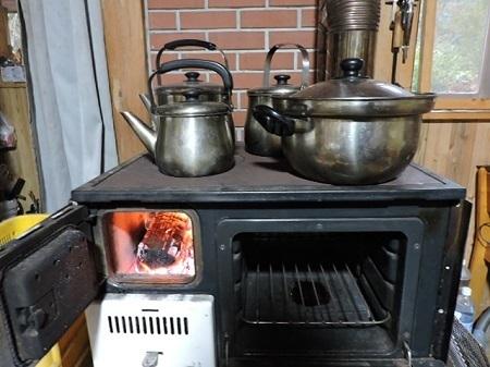 薪オーブン