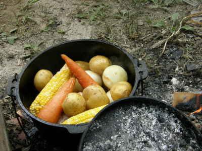 鶏と野菜の鍋