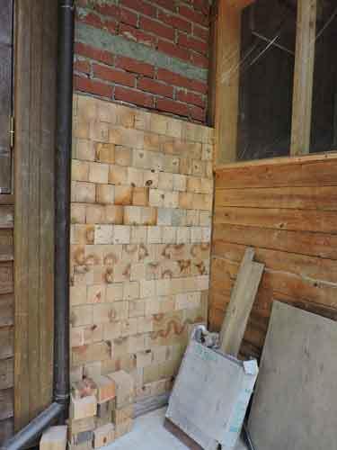 木ブロックを貼る4