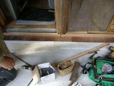 風防室床工事1