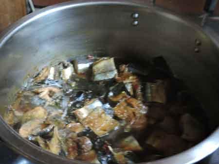 秋刀魚の佃煮