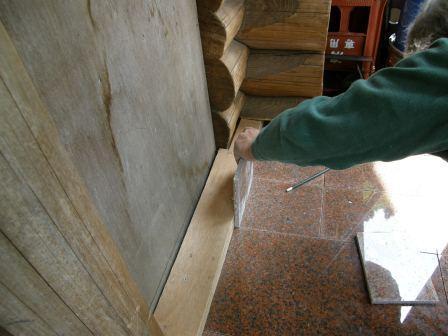 風防室床工事2