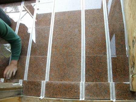 風防室床工事5