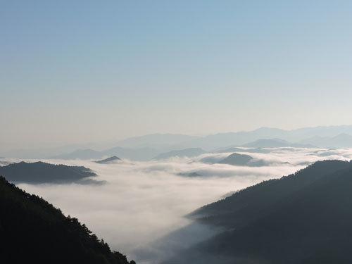9月26日朝の雲海1