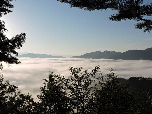 9月26日朝の雲海3