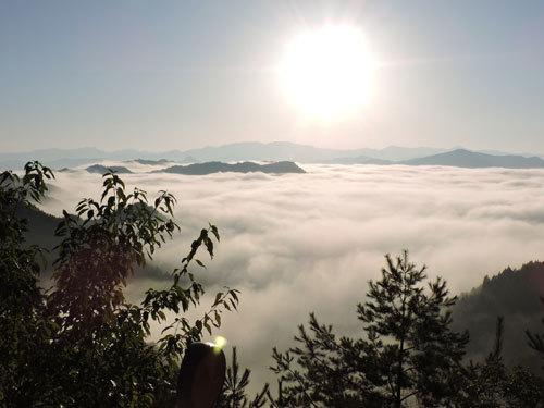 9月26日朝の雲海4