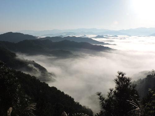 9月26日朝の雲海2