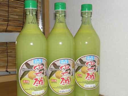 宮本さんの柚子果汁