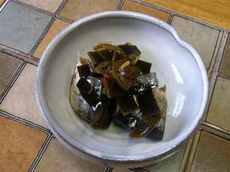 秋刀魚の煮つけ