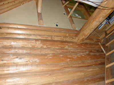 階段部分が開口