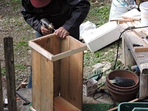 リンゴの木箱2