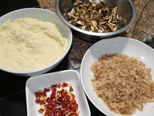 高野豆腐のブレンド粉1