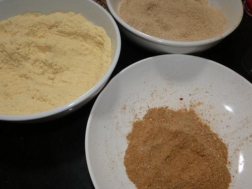 高野豆腐のブレンド粉2