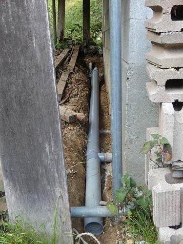 排水管工事3
