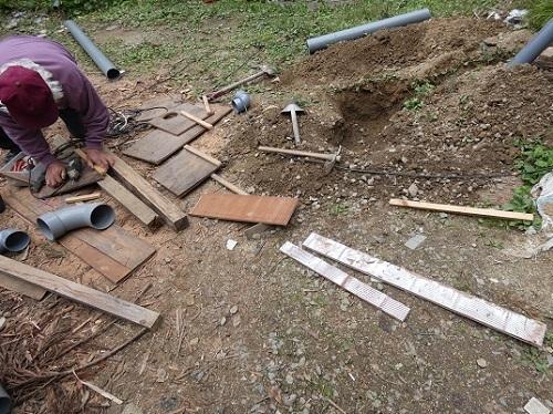 排水管工事5